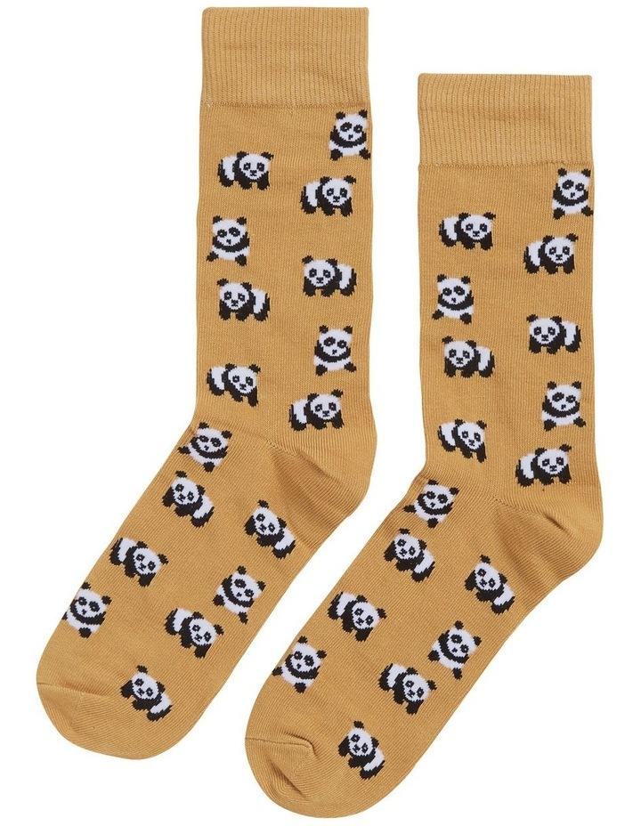 Panda 1 Pk Socks image 1