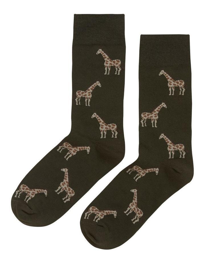 Giraffe 1 Pk Socks image 1