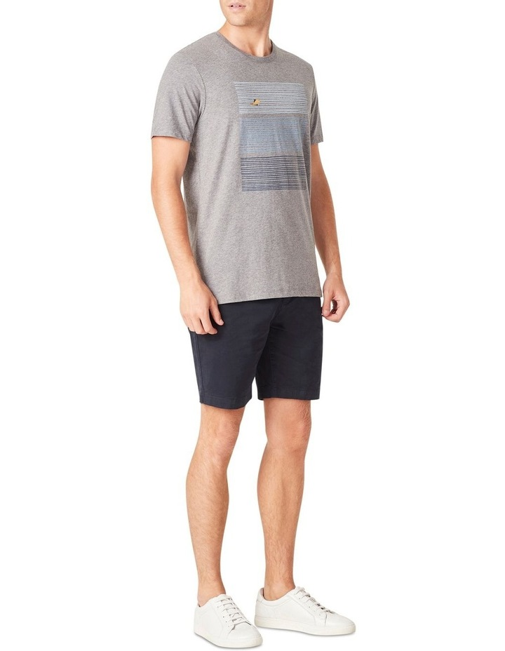 Fish Block Stripe T Shirt image 2