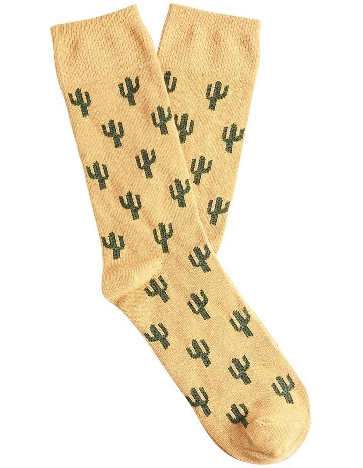 Cactus 1 Pk Socks image 1