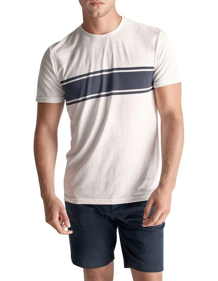 Vintage Cotton Stripe T Shirt image 1