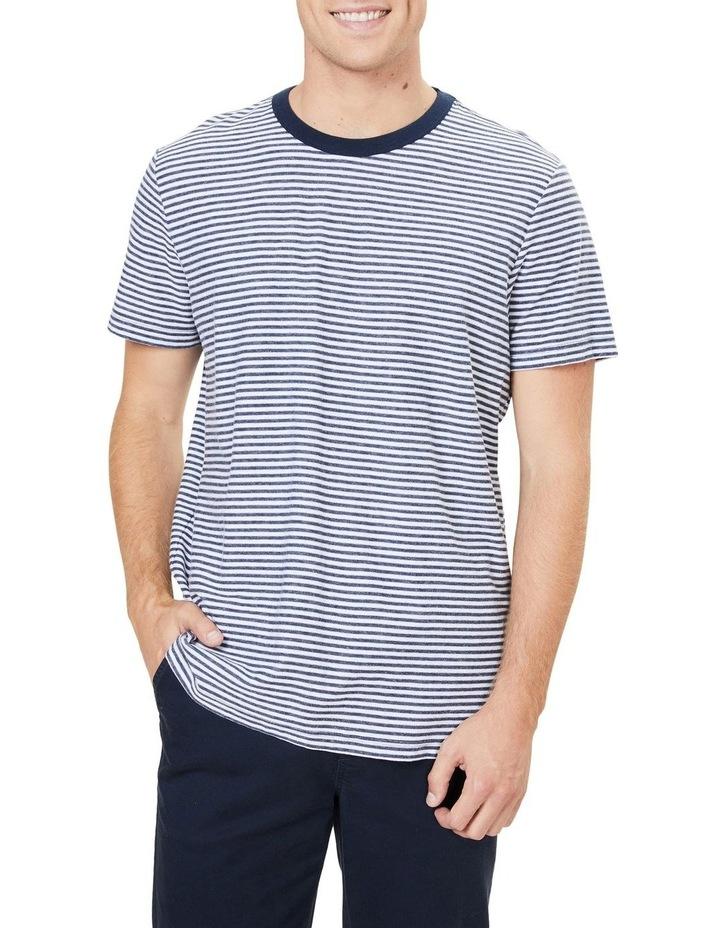 Yarn Dyed Stripe T Shirt image 1