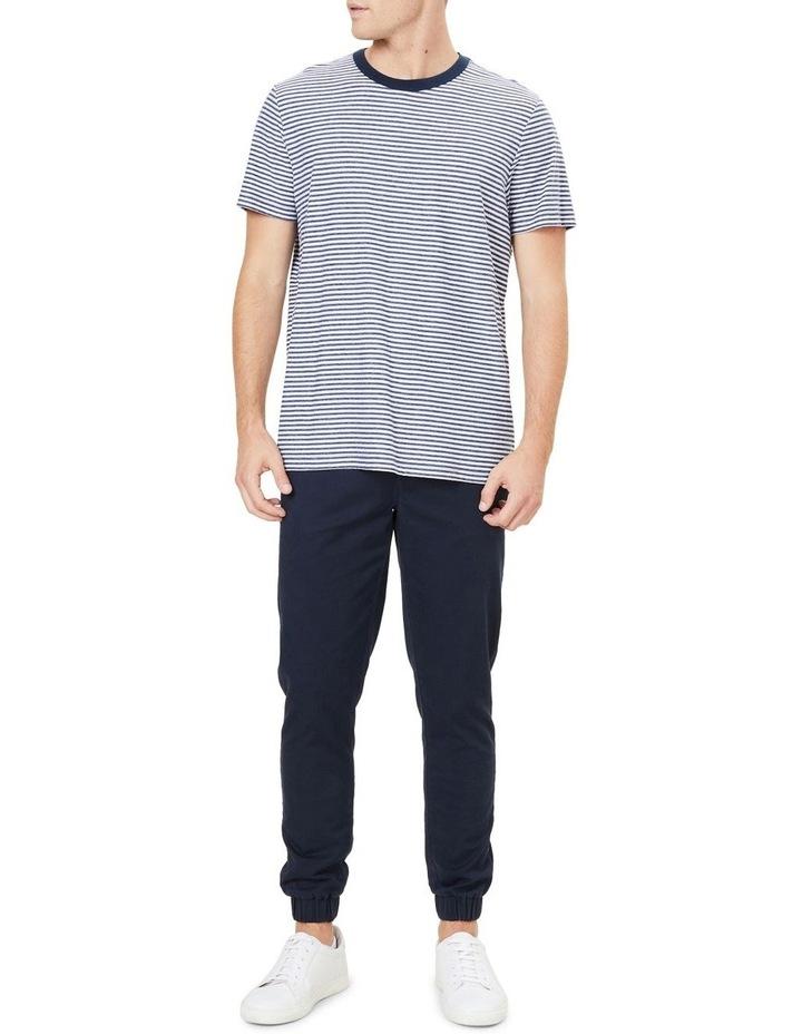 Yarn Dyed Stripe T Shirt image 2