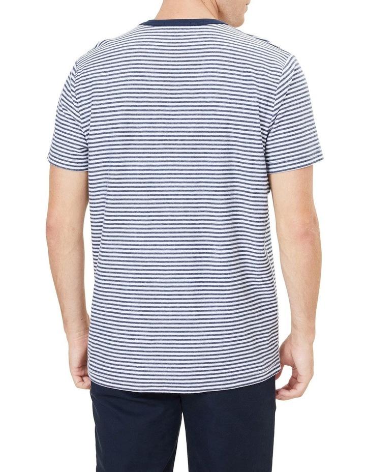 Yarn Dyed Stripe T Shirt image 3