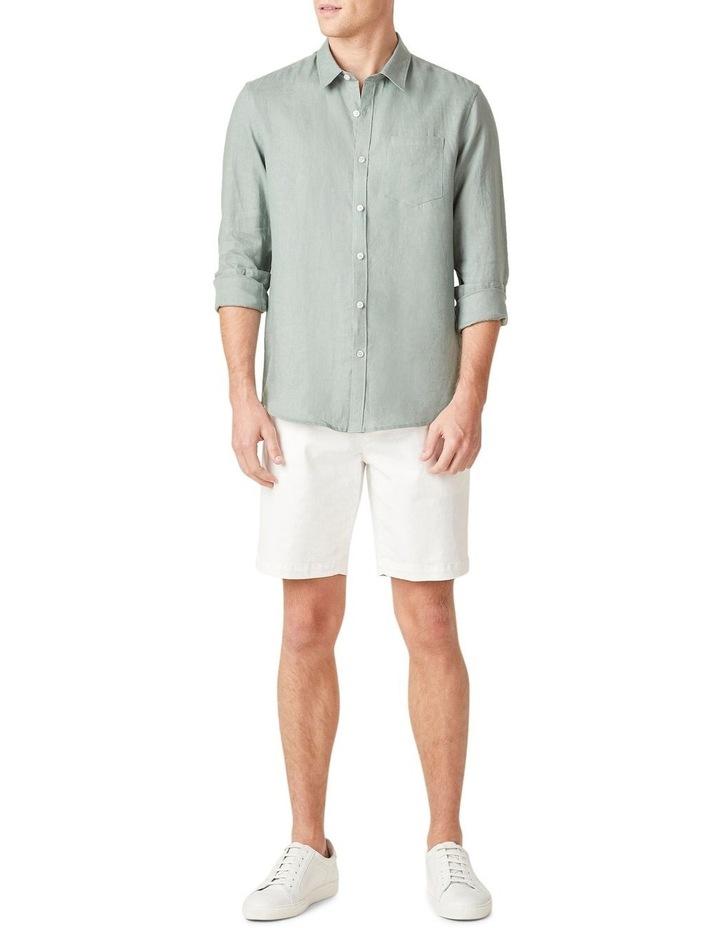 Linen Regular Fit Shirt image 5