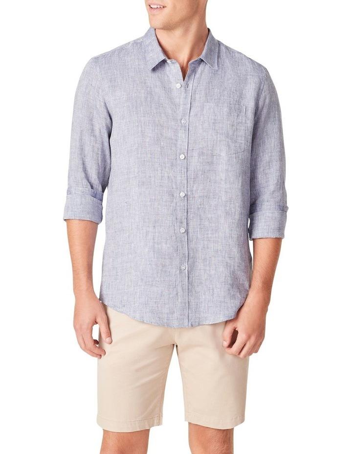 Linen Regular Fit Shirt image 1