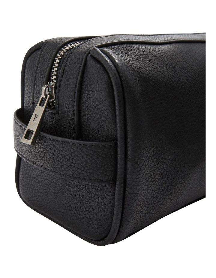 Leather Look Wash Bag image 3