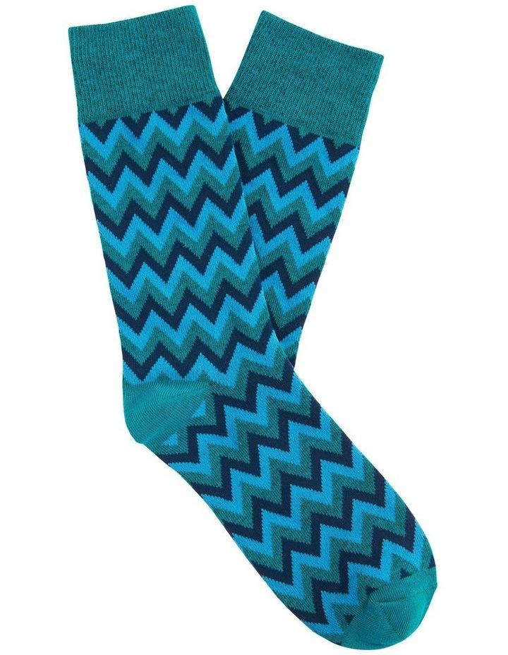 Zig Zag 1 Pk Socks image 1