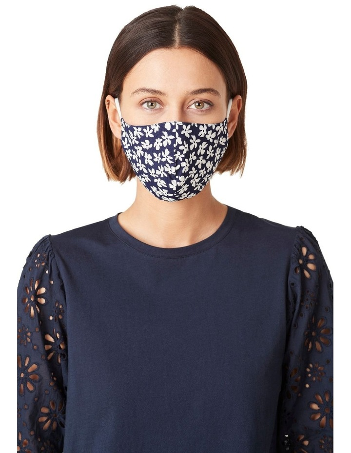 Ditsy Floral Face Mask 1 Pk image 2