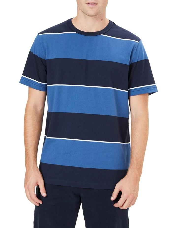 Block Stripe T Shirt image 1