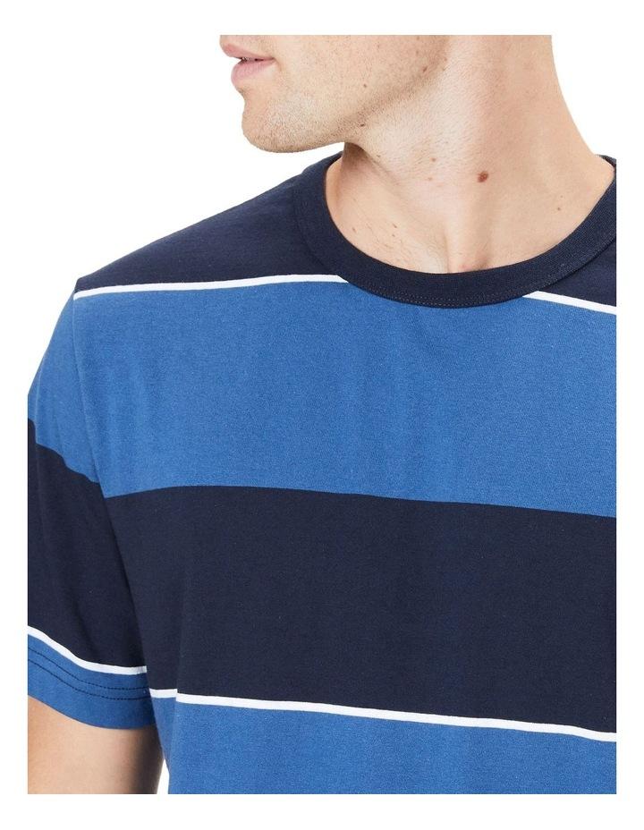 Block Stripe T Shirt image 4