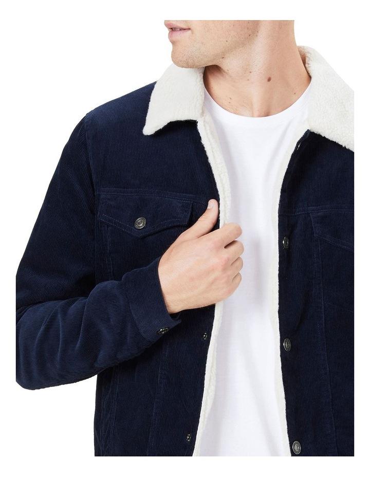 Cord Sherpa Jacket image 4
