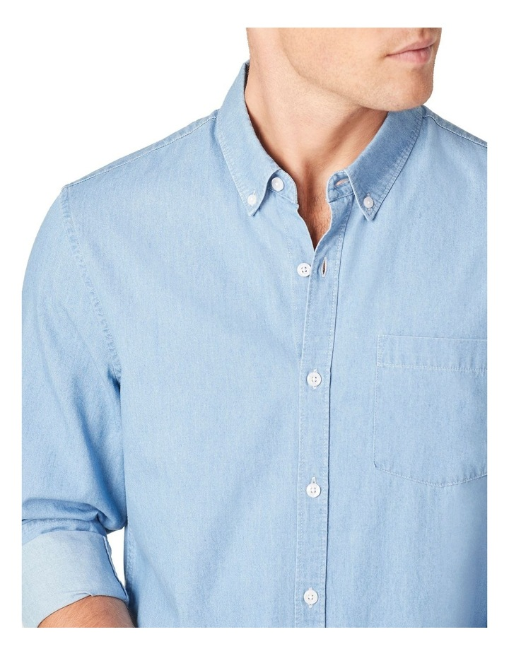 Chambray Regular Fit Shirt image 4