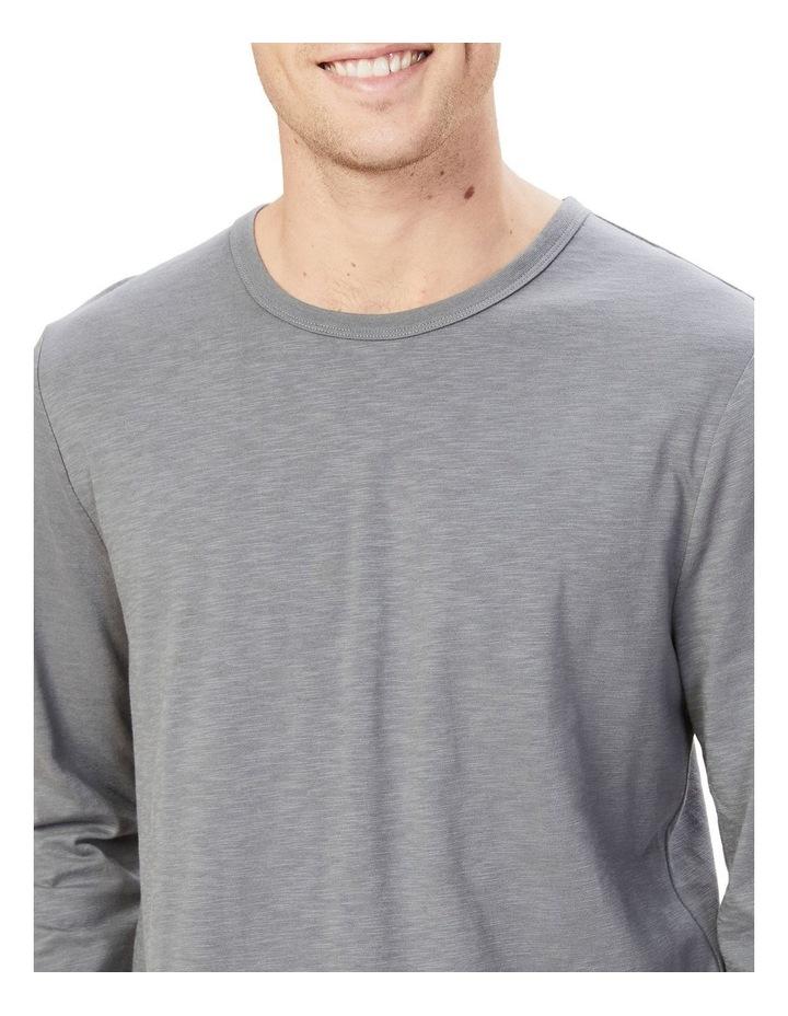 Organic Slub Long Sleeve T Shirt image 4