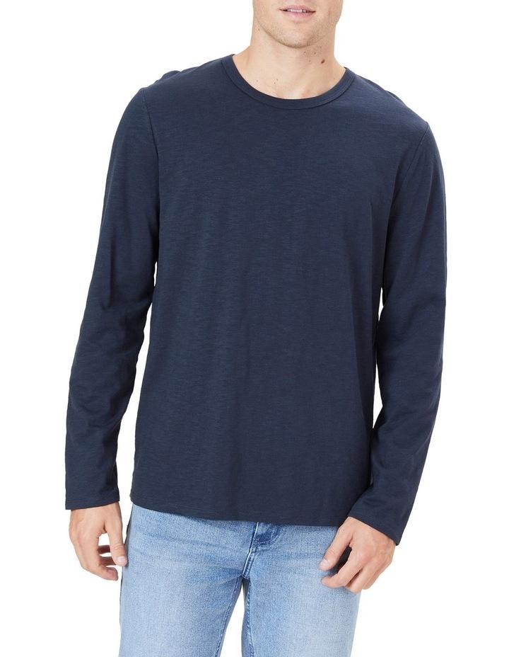 Organic Slub Long Sleeve T Shirt image 1