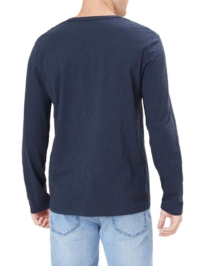 Organic Slub Long Sleeve T Shirt image 3