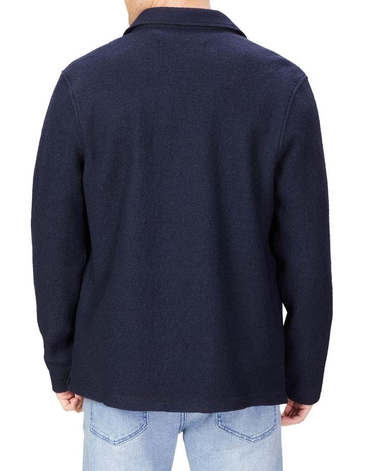 Boiled Wool Blend Jacket image 3