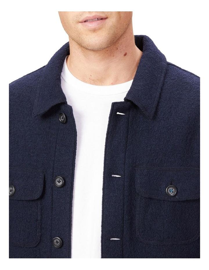 Boiled Wool Blend Jacket image 4