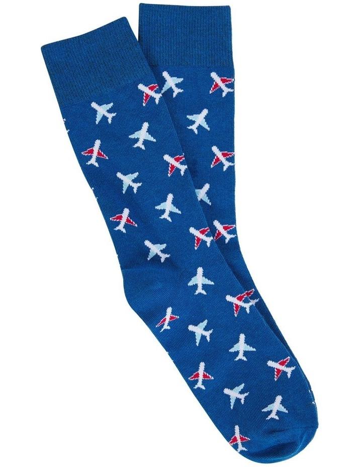 Aeroplane 1 Pk Socks image 1