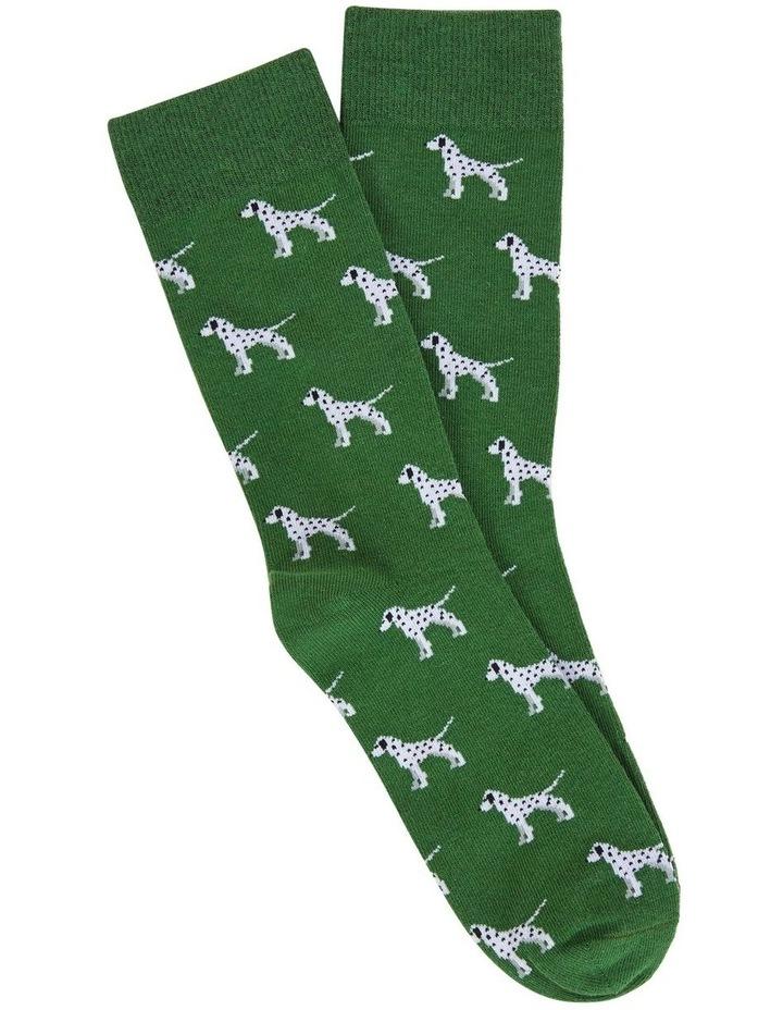 Dalmatian 1 Pk Socks image 1