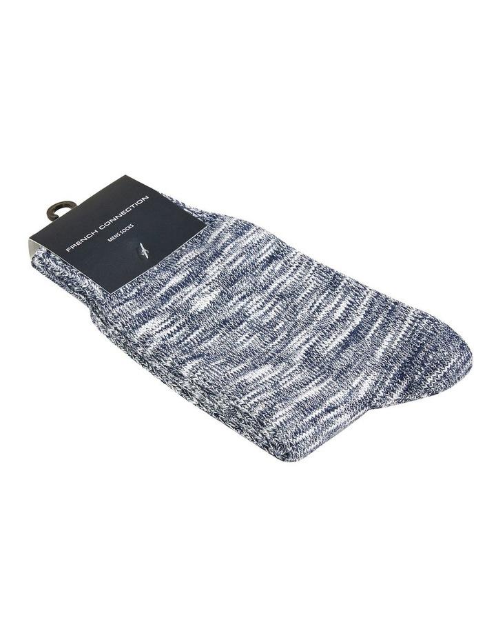 Textured Knit 1 Pk Socks image 2