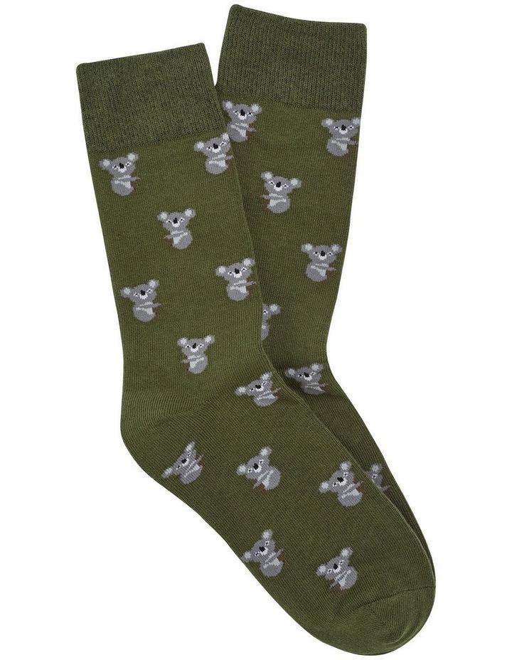 Koala 1 Pk Socks image 1