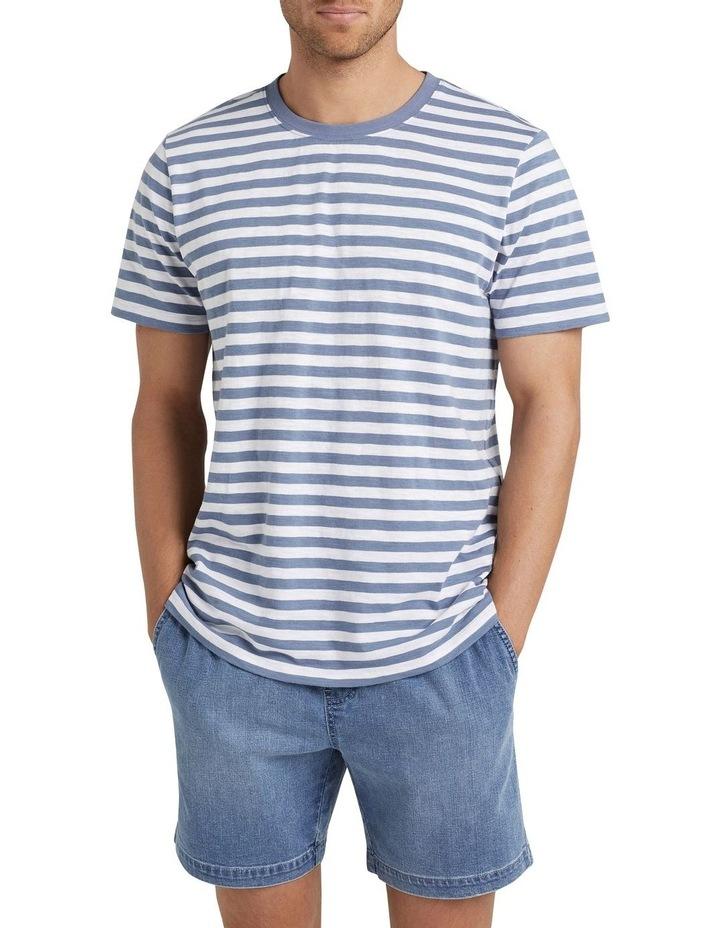 Stripe Slub T Shirt image 1