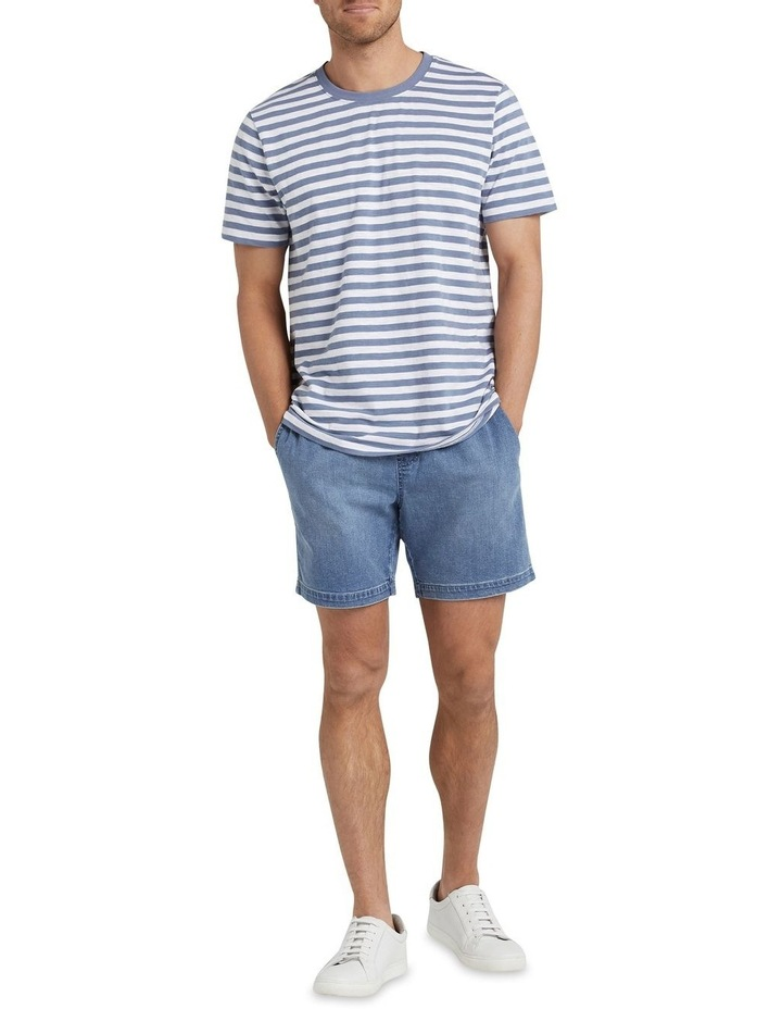 Stripe Slub T Shirt image 2