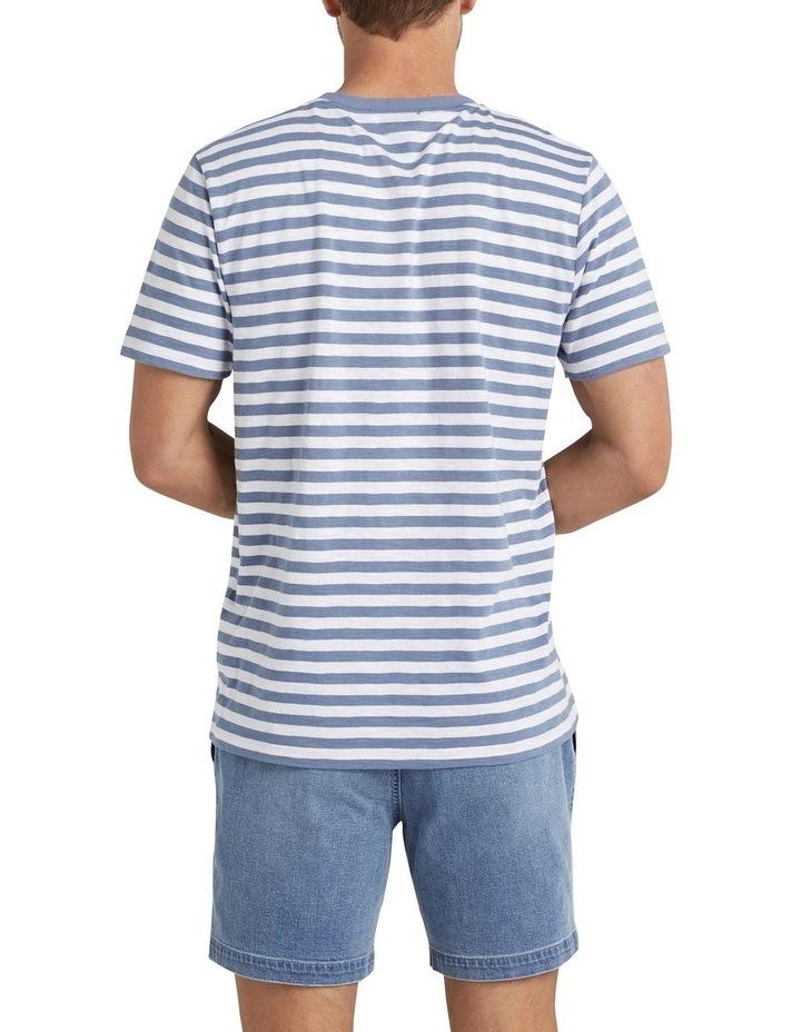Stripe Slub T Shirt image 3
