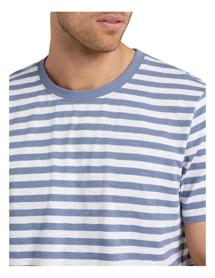 Stripe Slub T Shirt image 4