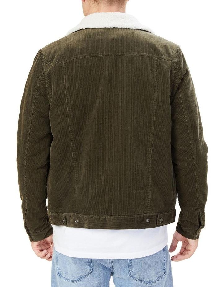 Cord Sherpa Jacket image 3