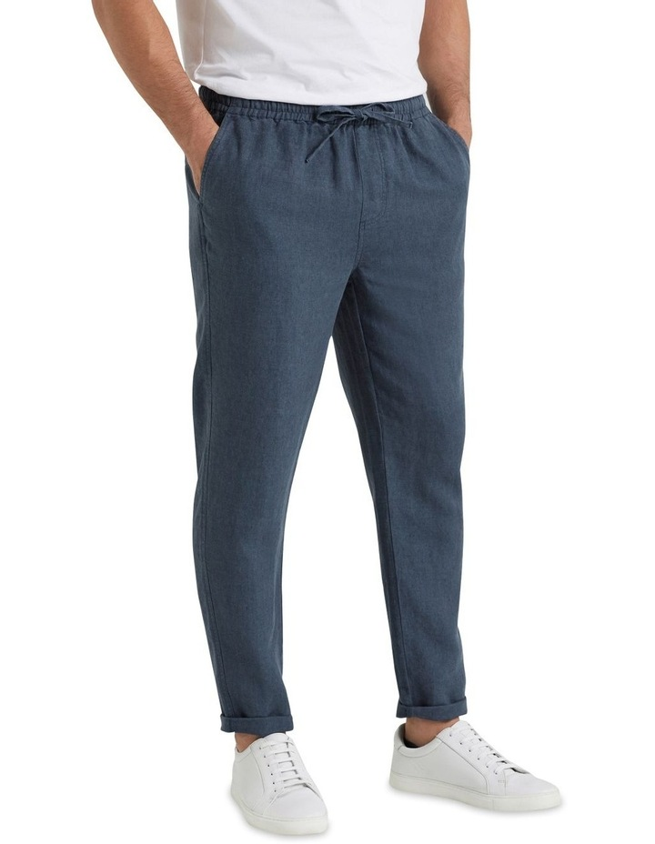 Linen Pull On Pant image 1
