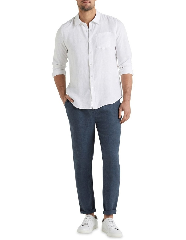 Linen Pull On Pant image 2