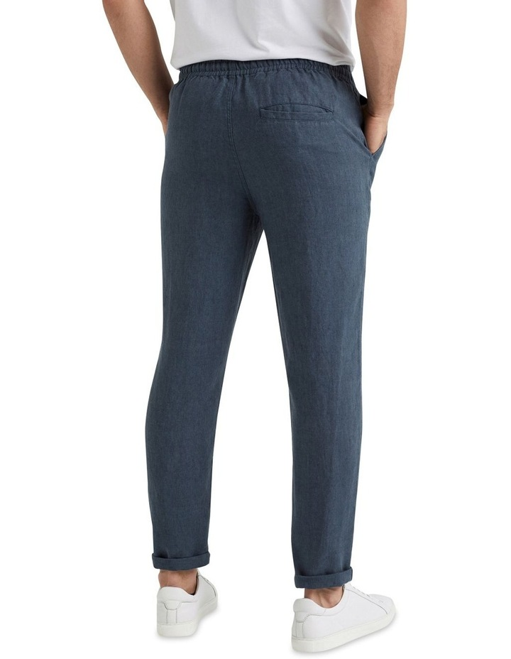 Linen Pull On Pant image 3