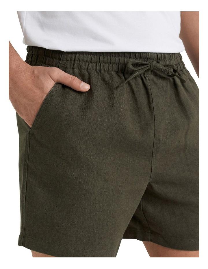 Linen Pull On Short image 4