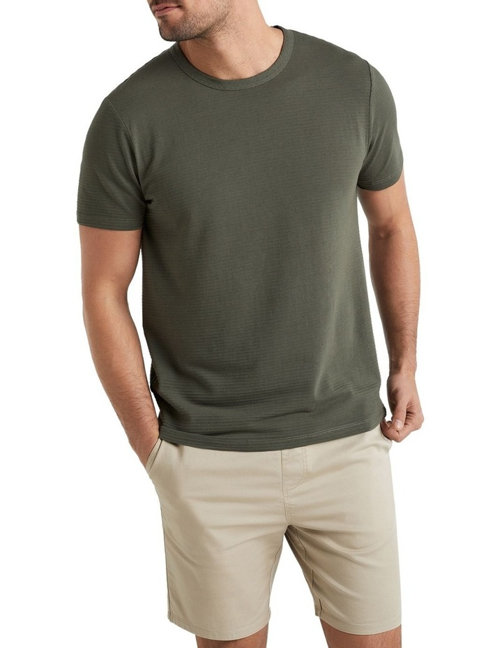 Faded Stripe T Shirt image 1