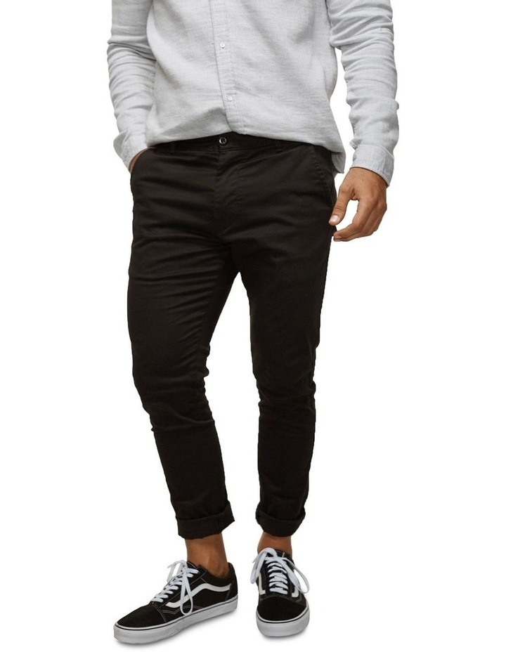 The Cuba Chino Pant - Black image 2