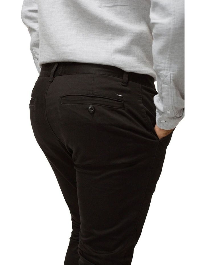The Cuba Chino Pant - Black image 3
