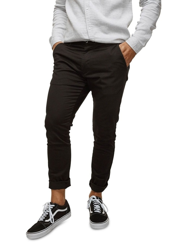 The Cuba Chino Pant - Black image 4