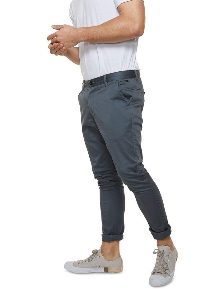 The Cuba Chino Pant - Mid Indigo image 3