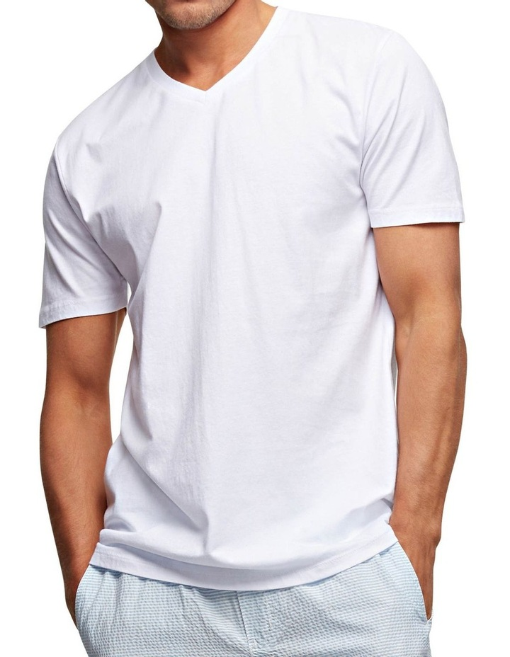 The New Basic Vee Short Sleeve Tee image 4