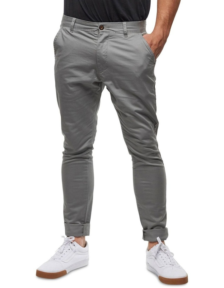 The Cuba Chino Pant - Thyme image 3
