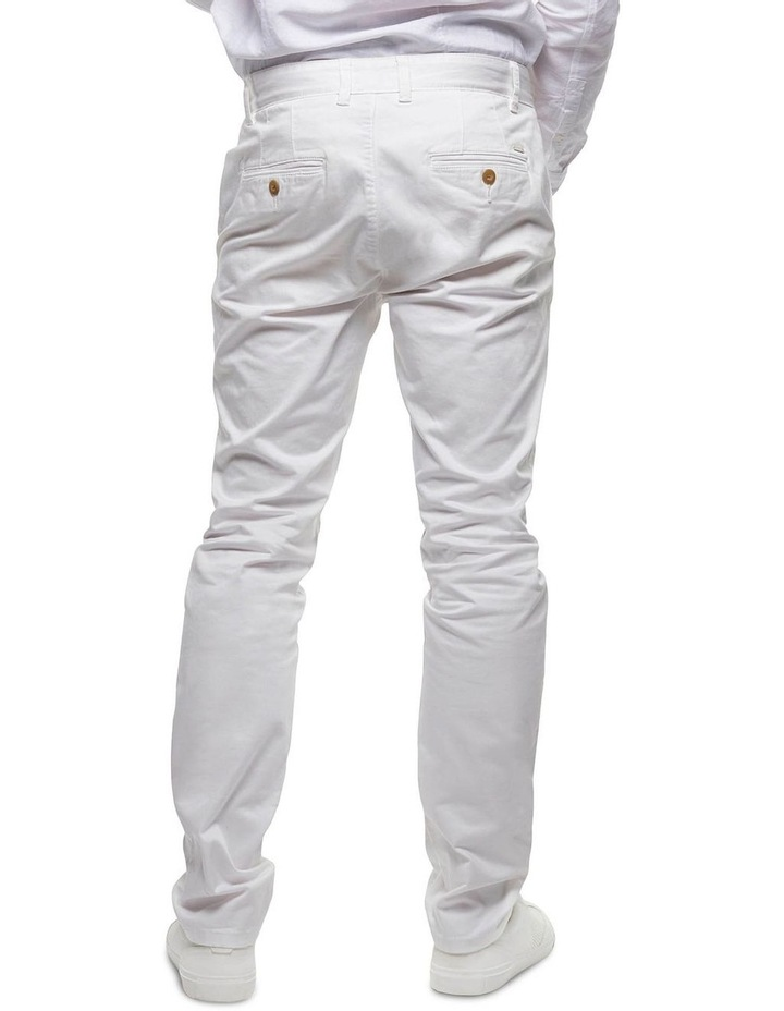 The Regular Cuba Chino Pant - Antique White image 2