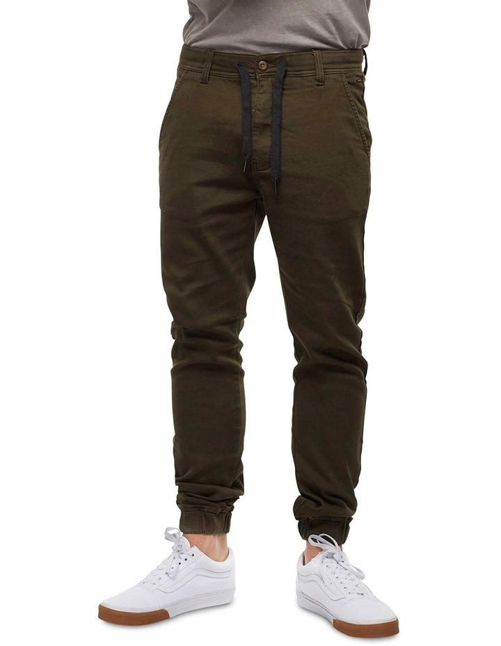 The Drifter Chino Pant - Army Green image 3