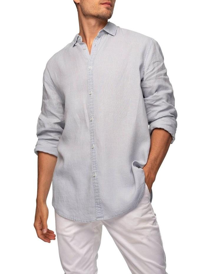 The Tennyson Linen Long Sleeve Shirt image 1