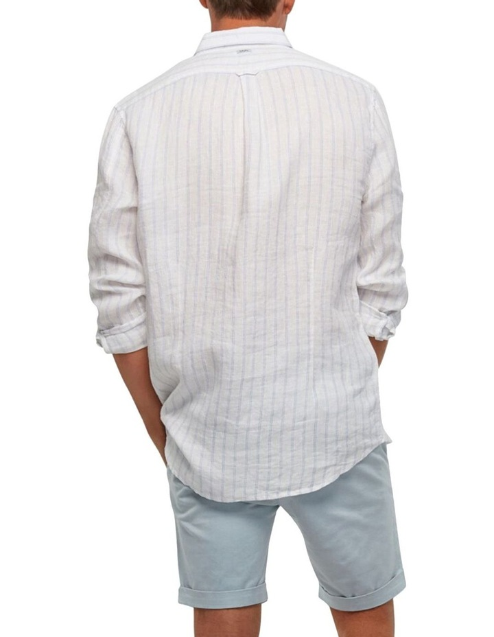 The Avenue Linen Long Sleeve Shirt image 2