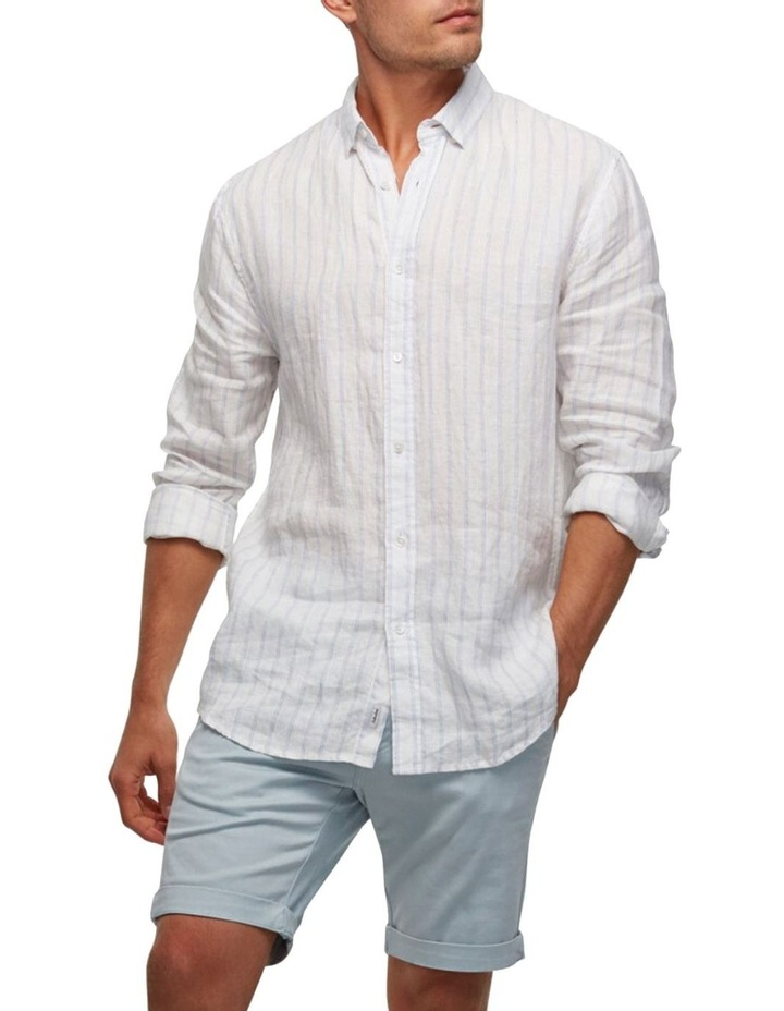 The Avenue Linen Long Sleeve Shirt image 3