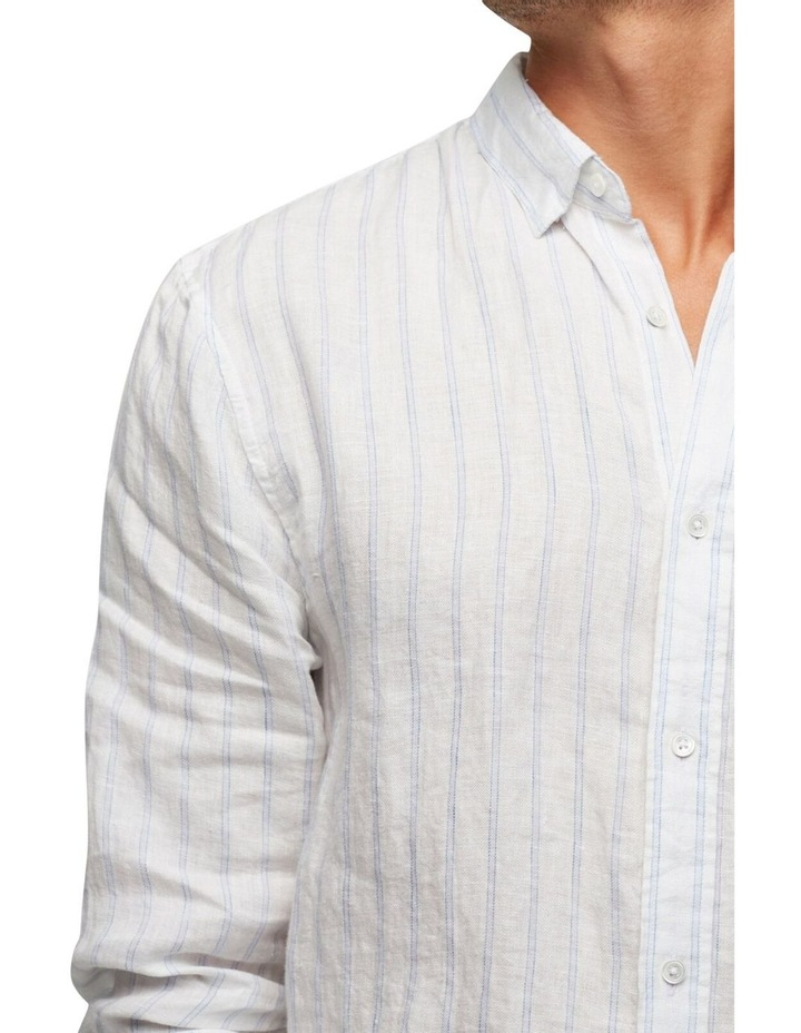 The Avenue Linen Long Sleeve Shirt image 4