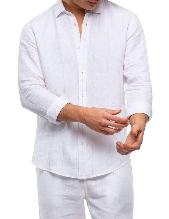 The Key Largo Linen Long Sleeve Shirt image 1