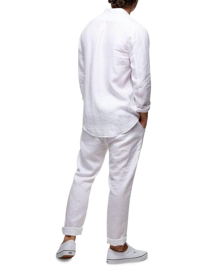 The Key Largo Linen Long Sleeve Shirt image 2